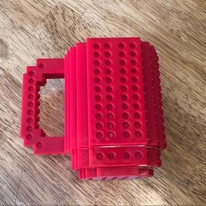 Red LEGO Coffee Mug